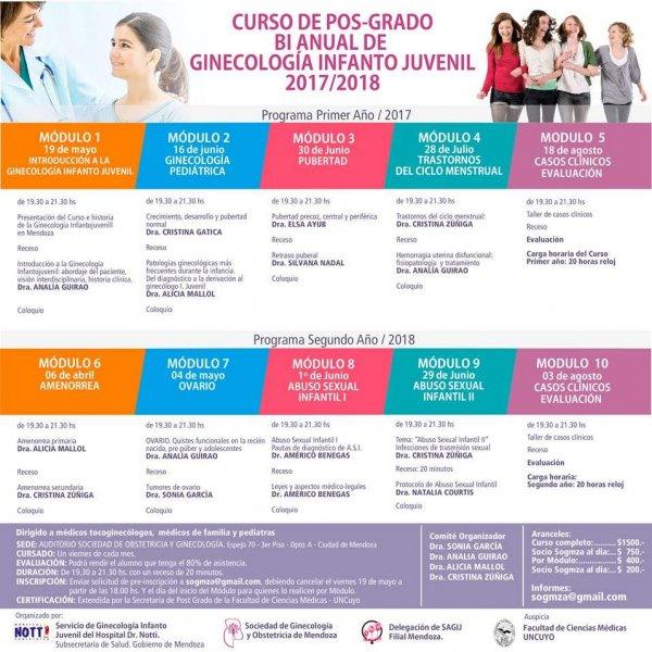 Ampros curso de post grado bi anual de ginecolog a for Espejo 70 mendoza